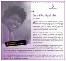 Susanthika J