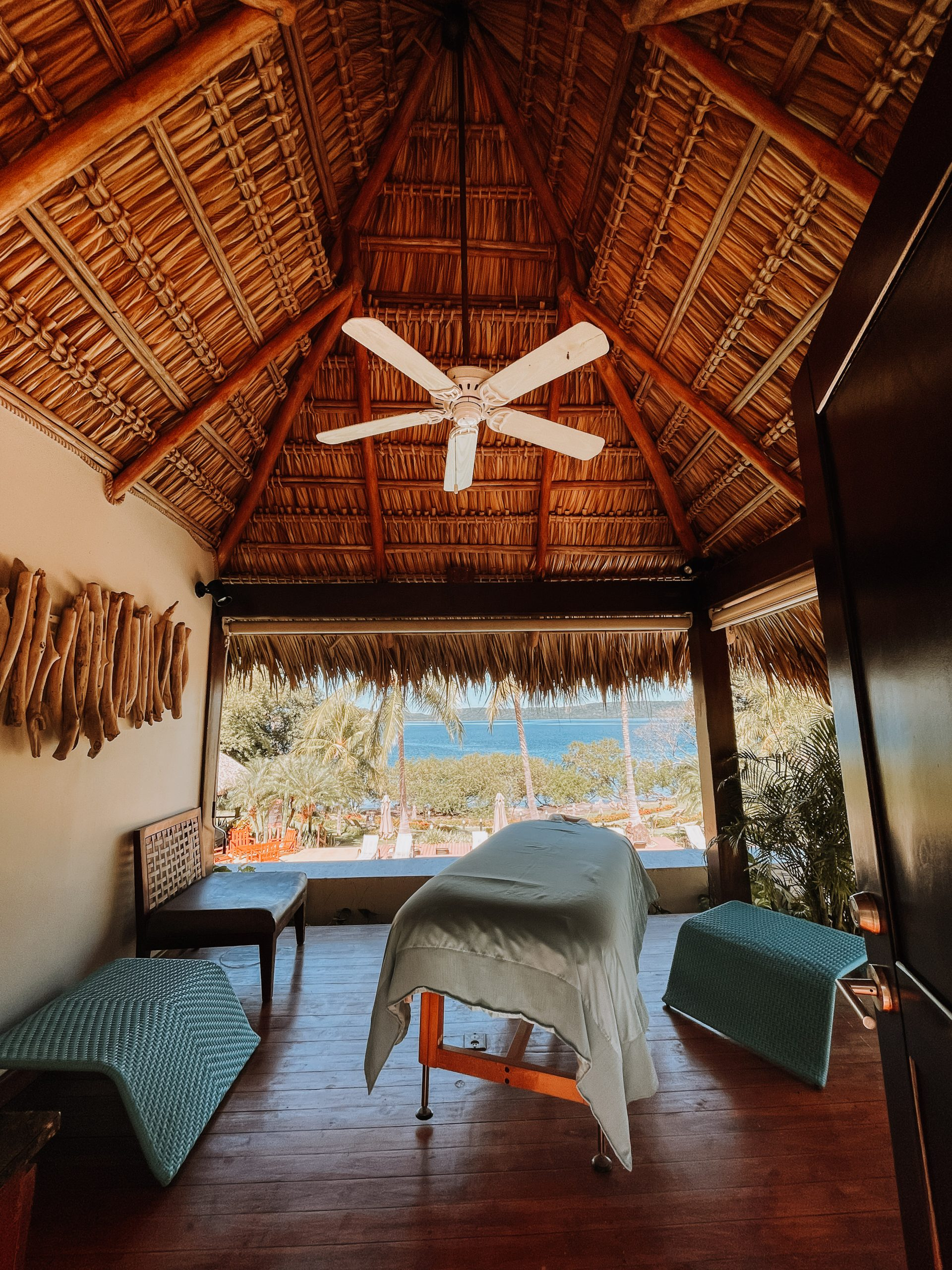 massage table at secrets papagayo