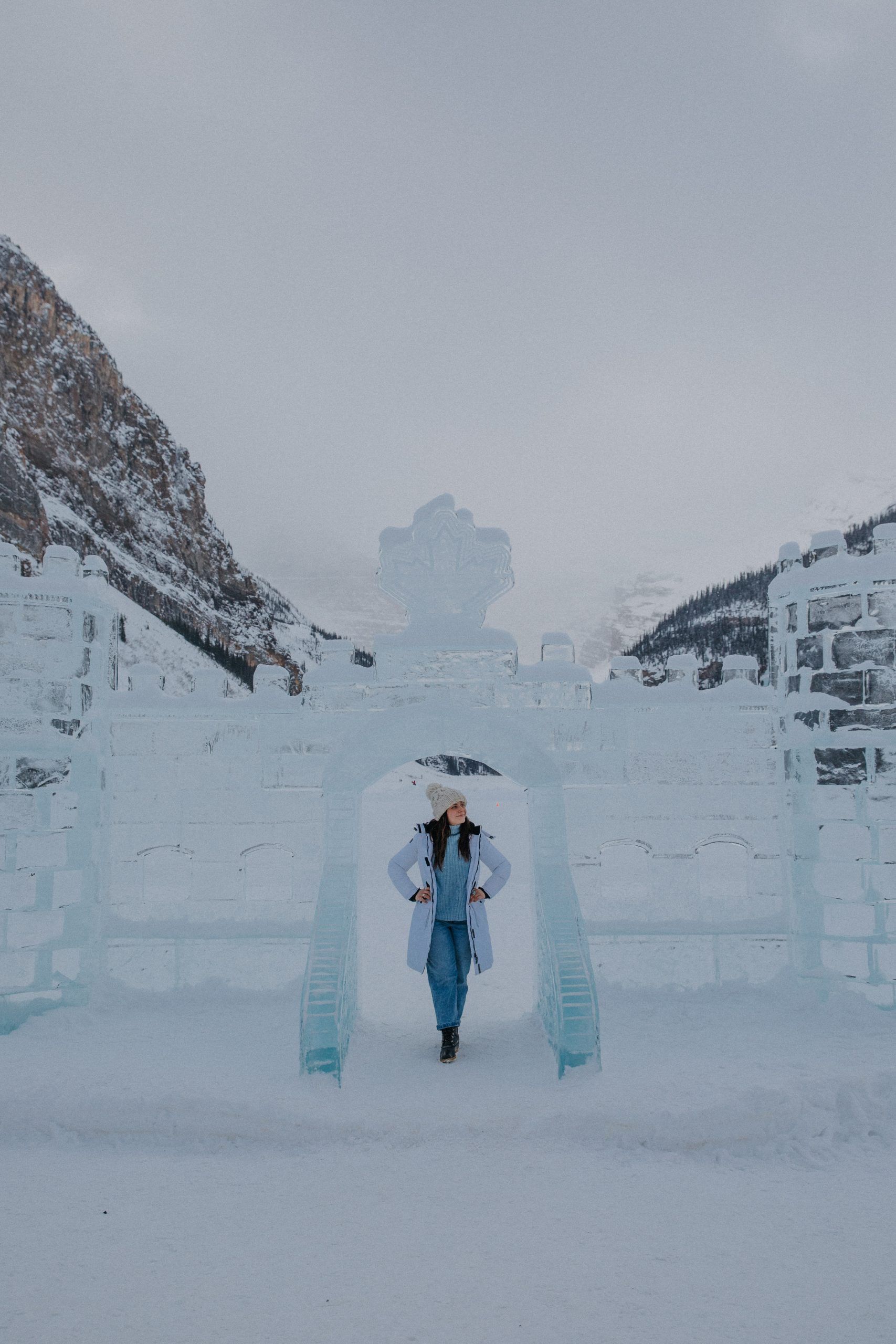 The Ultimate Banff Winter Guide - Ice Castles at Fairmont Chateau Lake Louise
