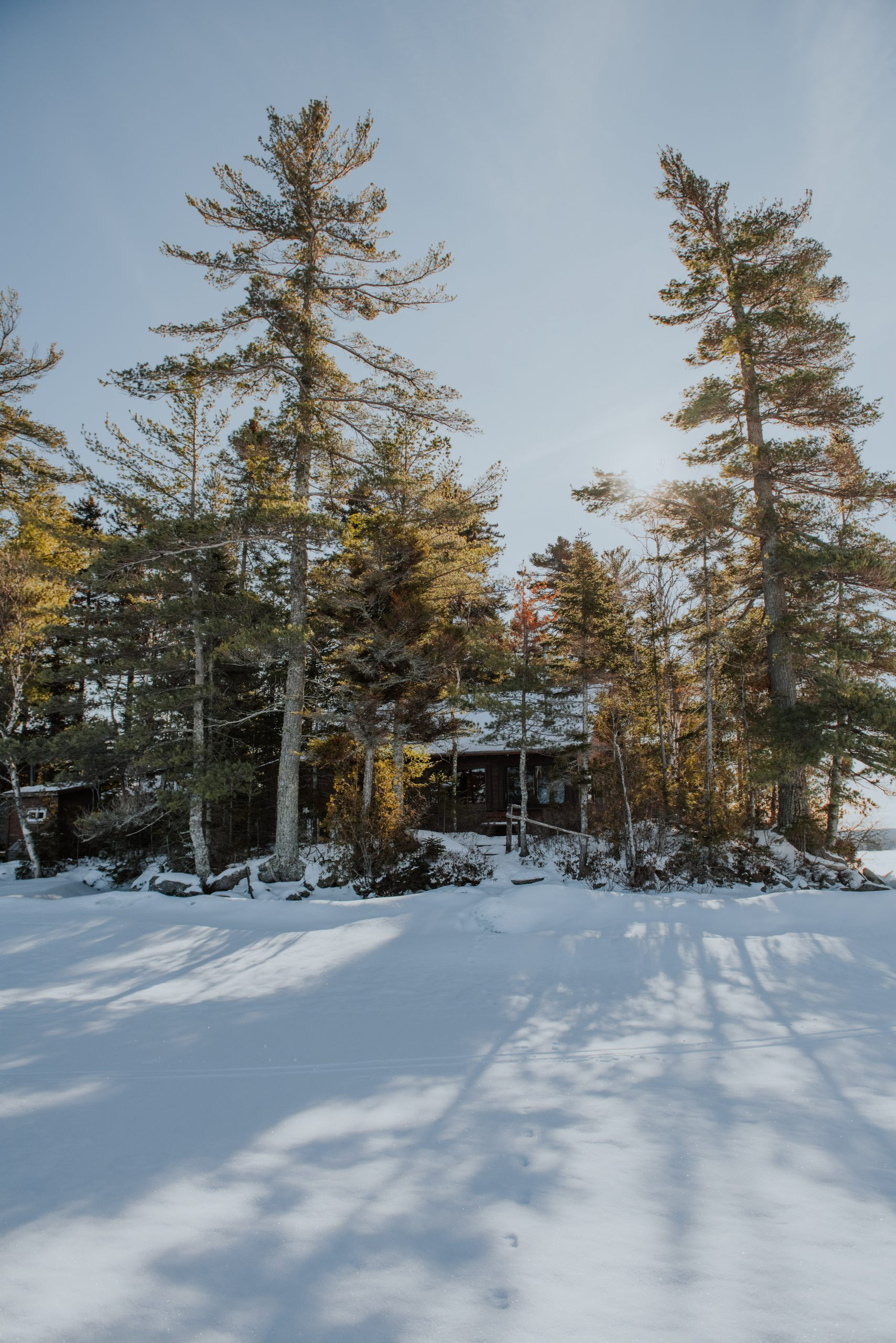 Cabin on Moosehead Lake in Maine
