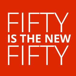fifty is the new fifty logo