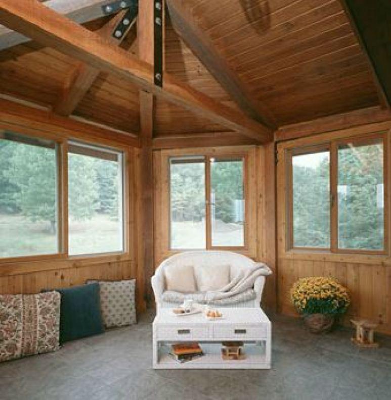 upper room porch