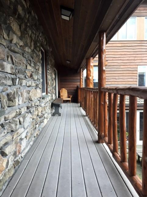 Lifebridge Sanctuary balcony
