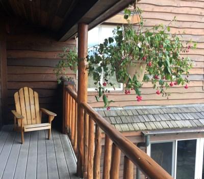 Main Lodge Balcony