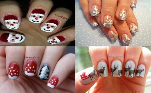 cute Christmas Nail Art Ideas