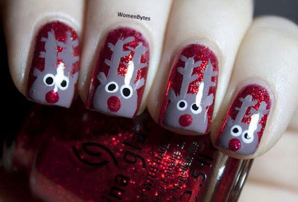 Awesome Christmas Nail Art Ideas