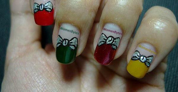 Christmas Colorfulful Nail Art Ideas