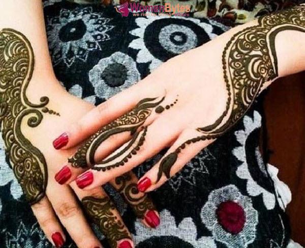 New Beautiful and Hot Mehndi Designs12