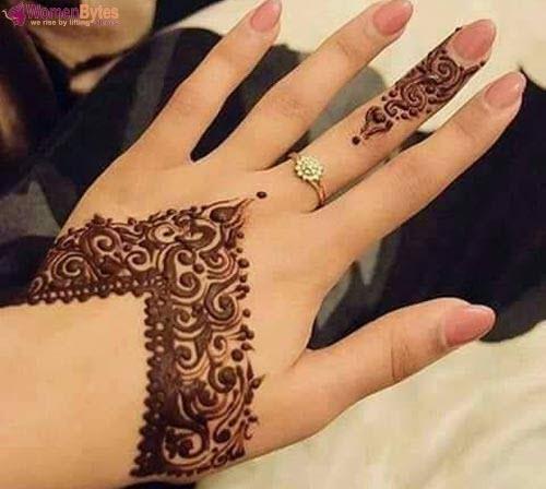 New Beautiful and Hot Mehndi Designs7