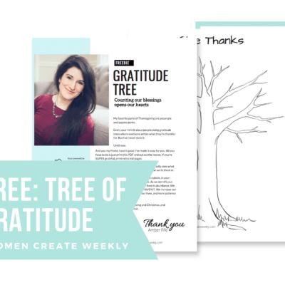 Free Download: Gratitude Tree