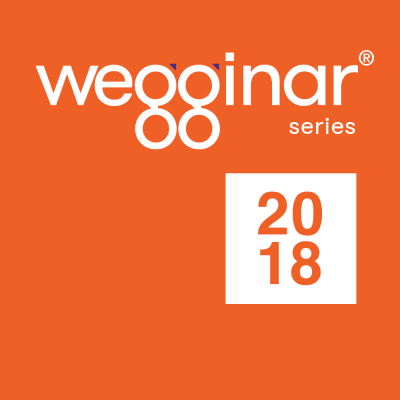 2018 wegginar series