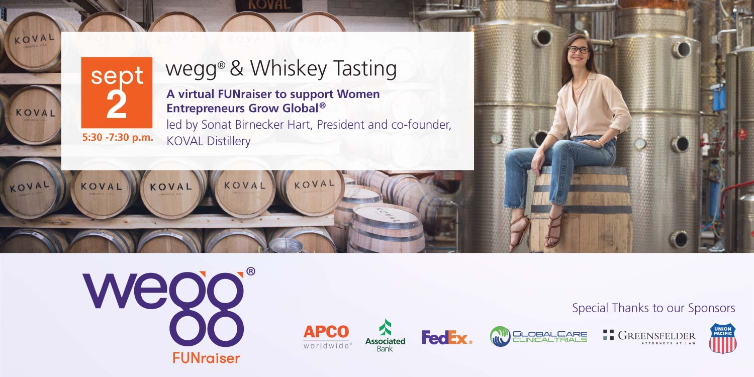 wegg & Whiskey Tasting on Sept 2, 2020