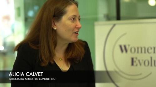 Sra Alicia Calvet, directora Ambesten Consulting,