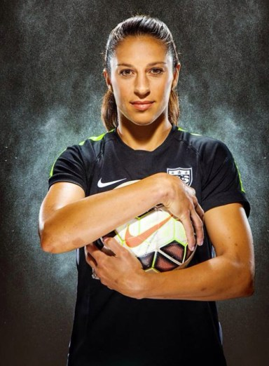 Carli Lloyd: Two-Time Olympic Gold Medalist In Professional Soccer Reveals Her Success Story - Women Fitness
