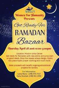 Get Ready For Ramadan Bazaar