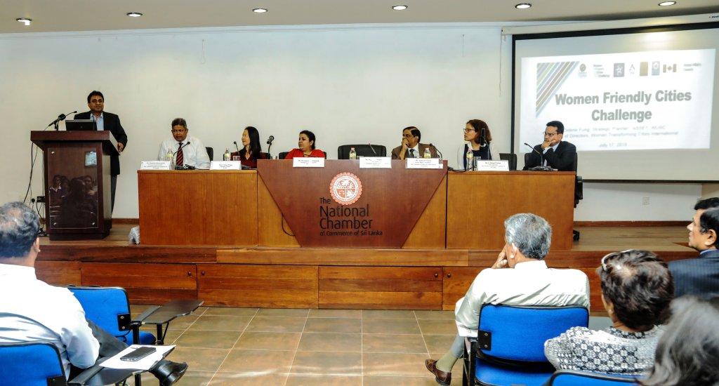 Women Friendly Cities Challenge launches in Sri Lanka
