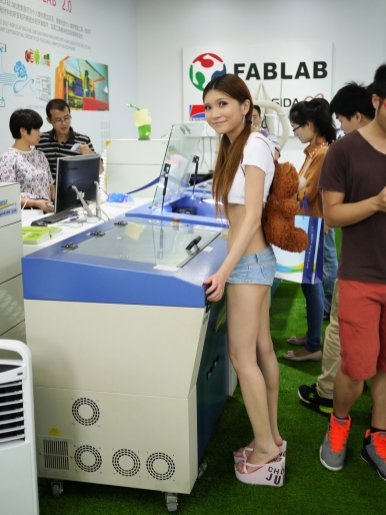 Naomi Wu at Tradeshows