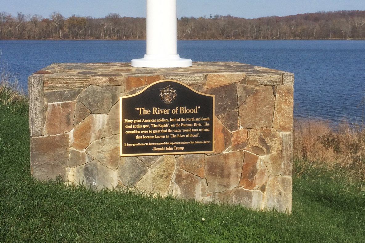 River of Blood Monument