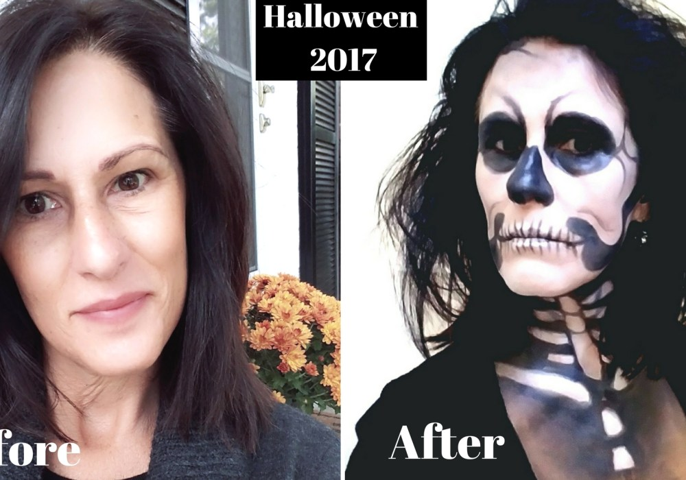 How to Create: Halloween #SkeletonBride Makeup Look