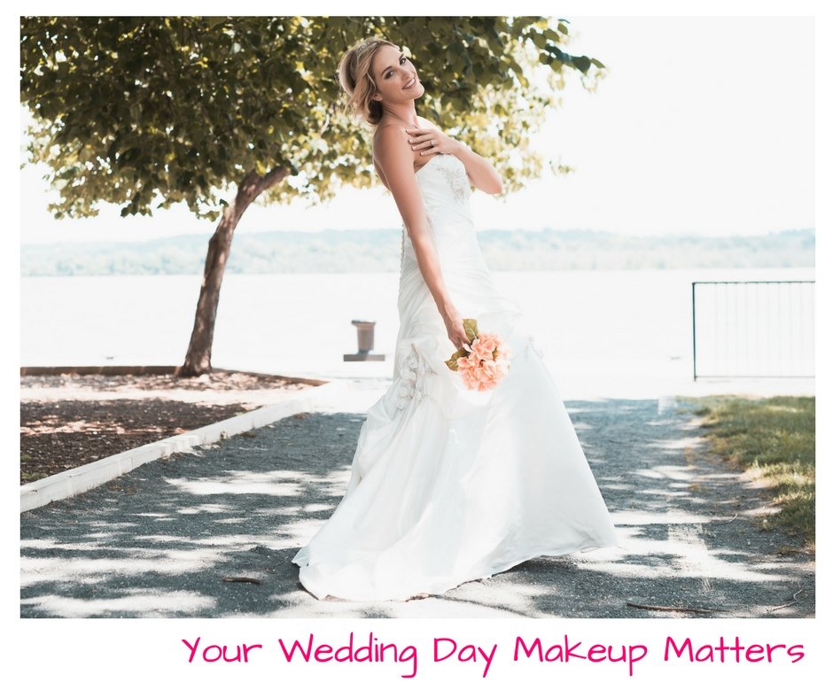 "The question you need to ask yourself is, ""why would you hire professionals for every aspect of your wedding and then not hire a pro makeup artist to do ..."