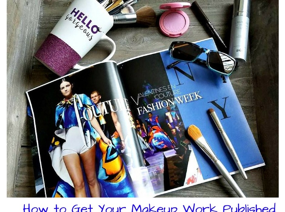 How to Get Your Makeup Work Published