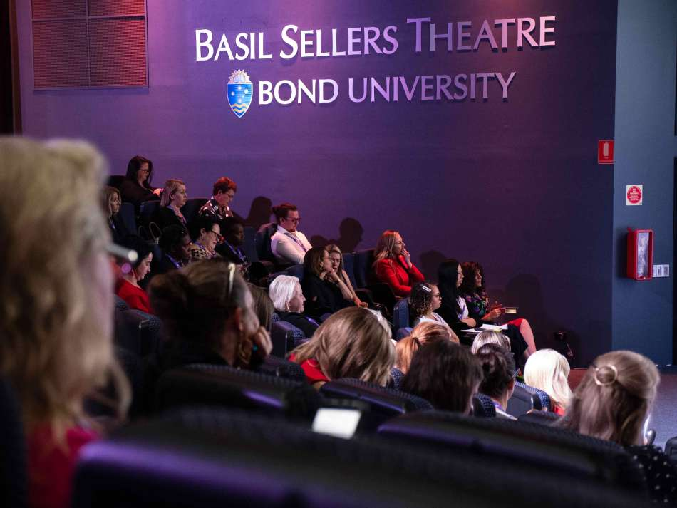 Captivated audience in the Basil Sellers Theatre. Photo: Monique Grisanti | Uneek Creative