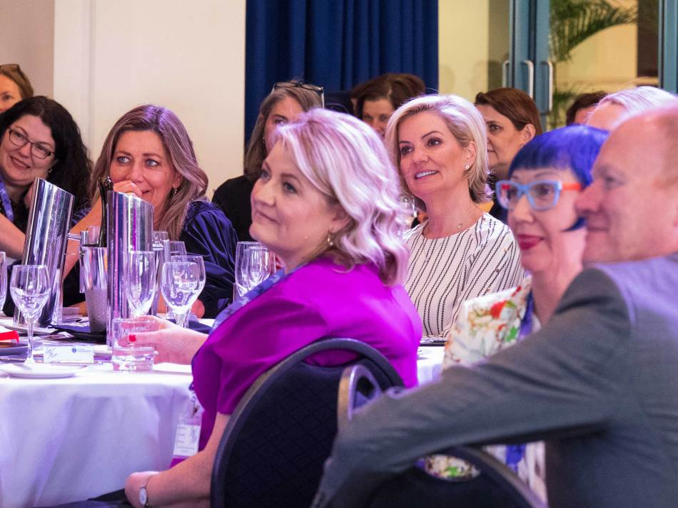 Cathy Bellenger, Sandra Sully, and Paula Doneman. What a trio! Photo: Monique Grisanti | Uneek Creative