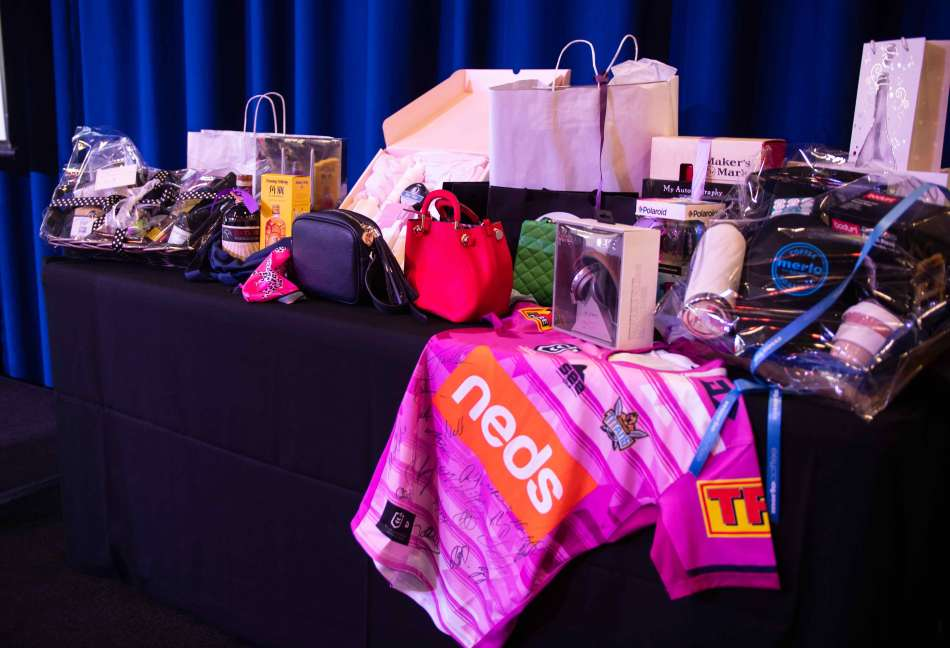 Thank you to all the generous business who donated raffle prizes. Photo: Monique Grisanti | Uneek Creative