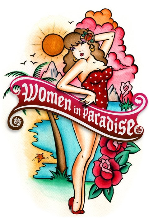 Women in paradise Logo