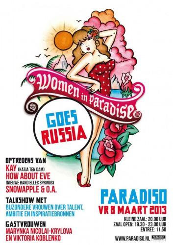 Women In Paradise 2013