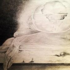 Pencil Illustration by Maurice Scott
