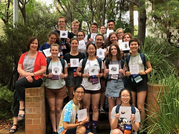 ANU National Youth Science Forum group 2019