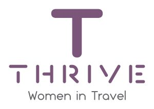 women in travel thrive logo