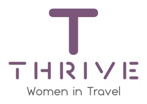 women in travel thrive logo