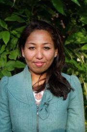Rasina, our new board treasurer