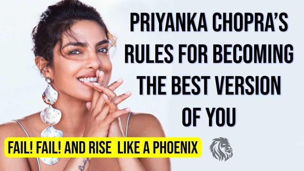 12 Brilliant Tips in Priyanka Chopra Speech to Motivate Women Globally