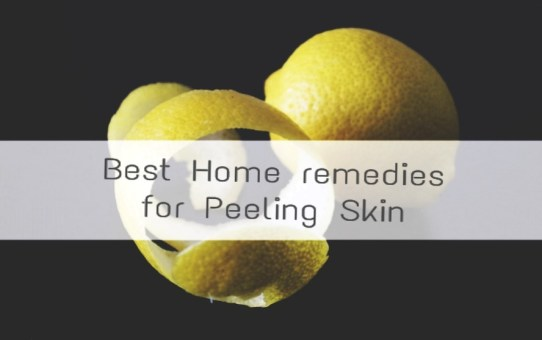 Home remedies for peeling skin