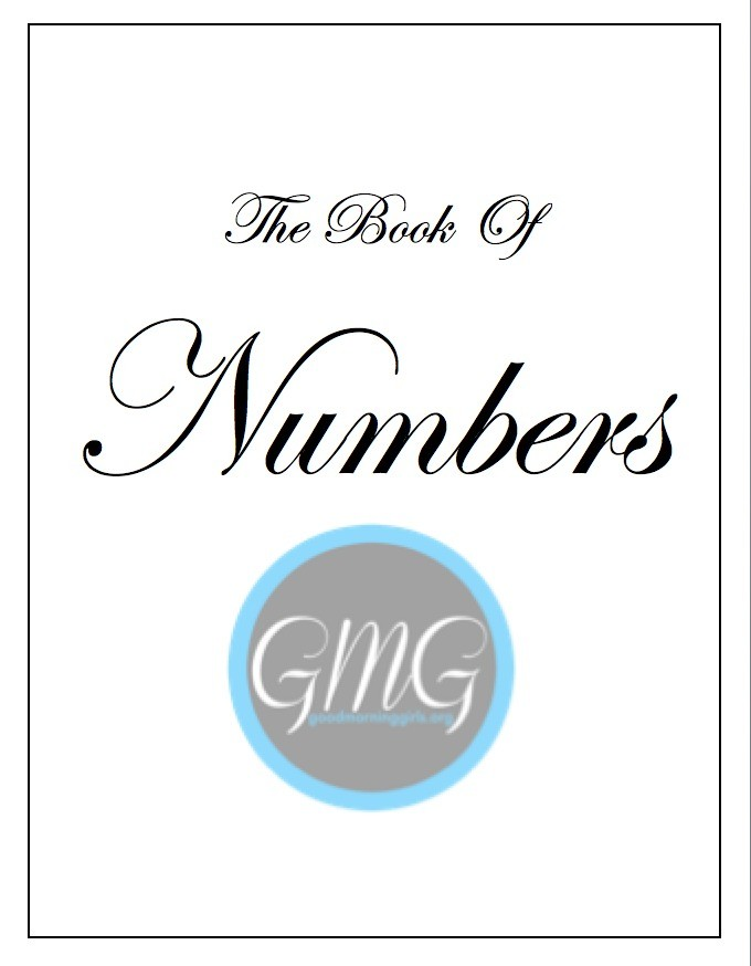 Cover Book of Numbers Short Journal