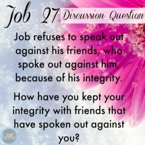Job 27a