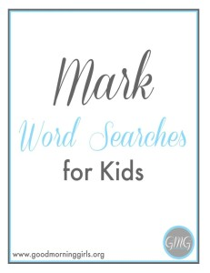 Mark Word Searches for Kids