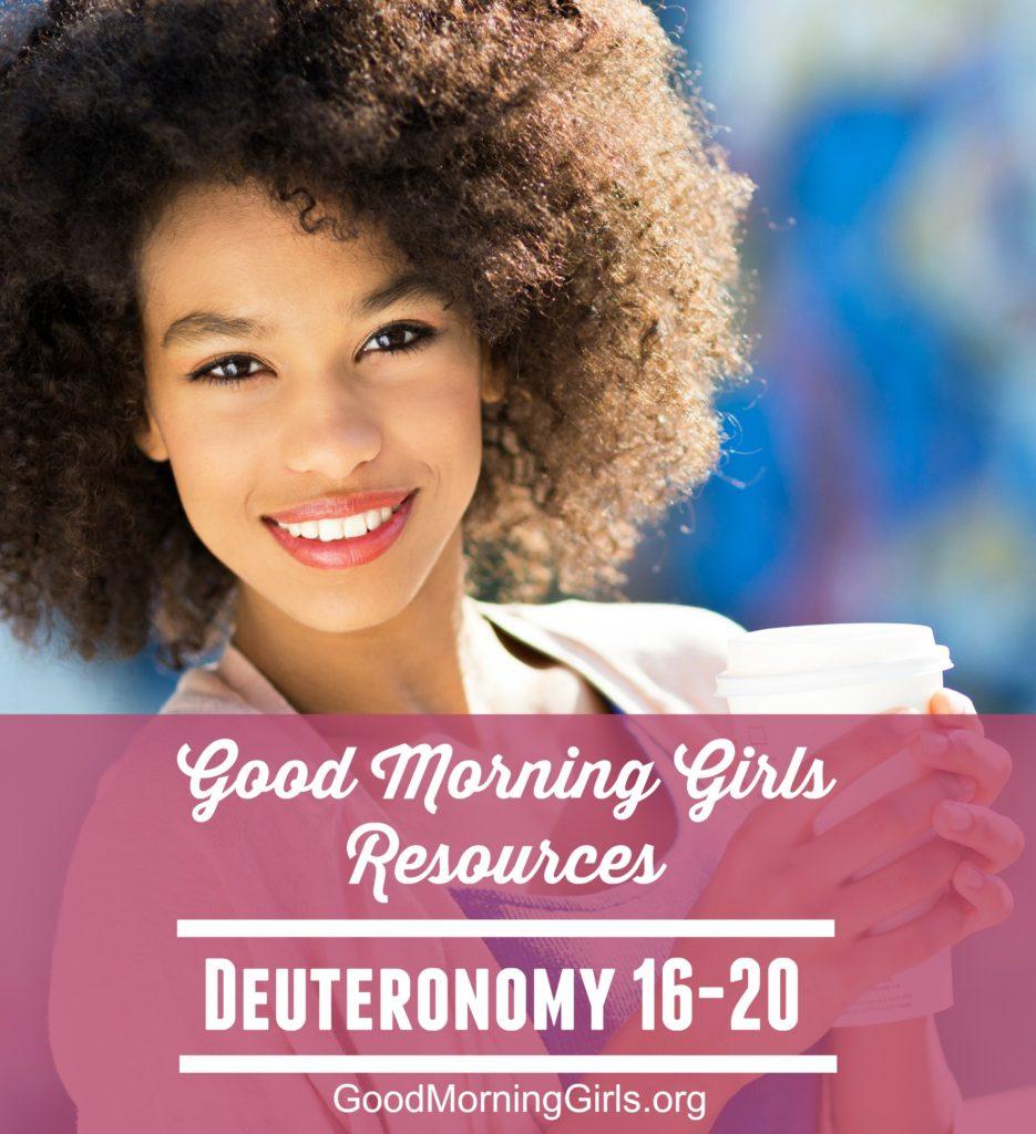 Deuteronomy 16-20