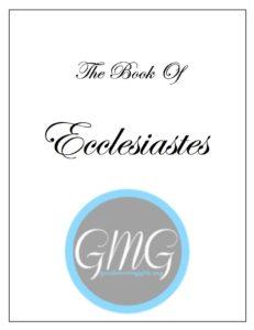 Ecclesiastes Short Journal cover