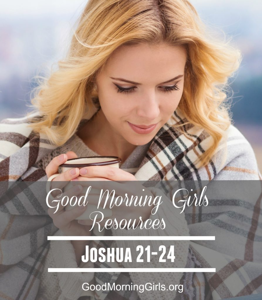 GMG Resources Joshua 21-24