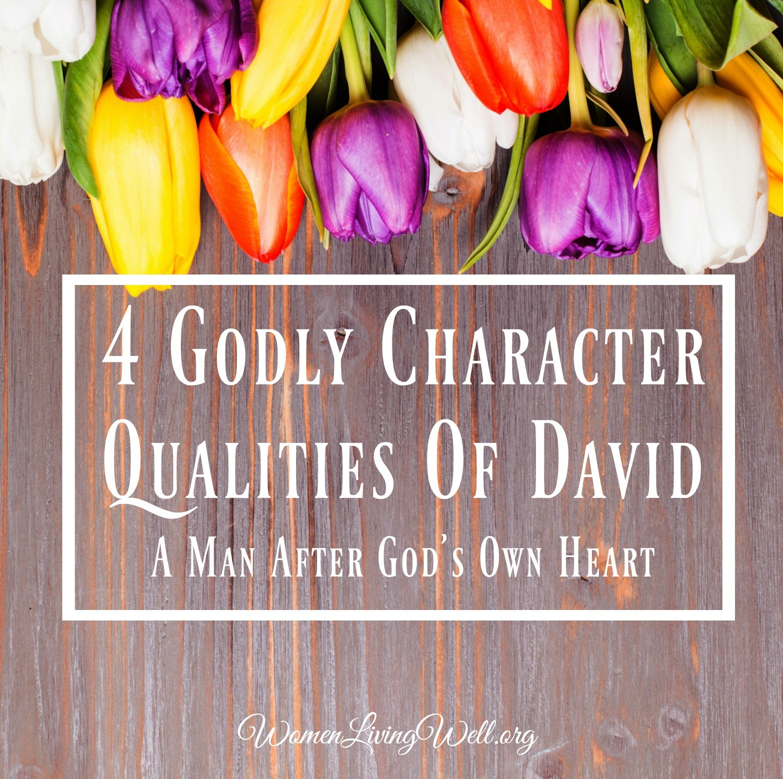 4 Godly Character Qualities Of David