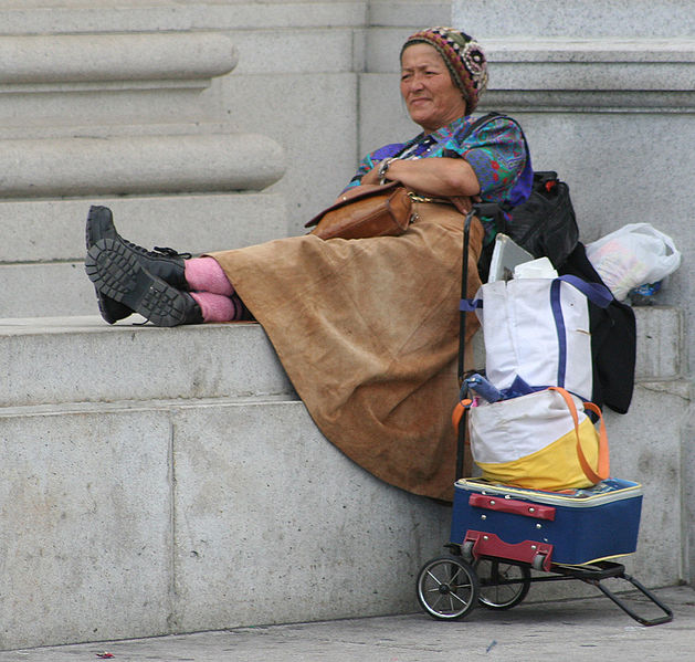 Homeless Women – Criminals of Poverty?