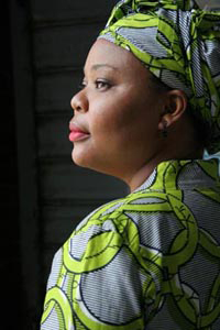 Leymah Gbowee talks peace in Liberia by confronting violence against women