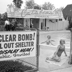 Bomb shelter and swimming pool 1950s