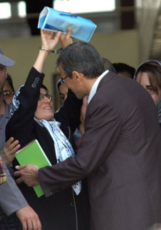An Encounter with (IRAN prisoner) Nasrin Sotoudeh: Hands of a Witness, Forever Unbowed