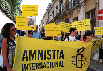Amnesty International celebrates 30 years in Portugal (President Lucília José Justino remembers)