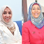 Dr. Masooma al Saleh and Yuthar al Rawahy